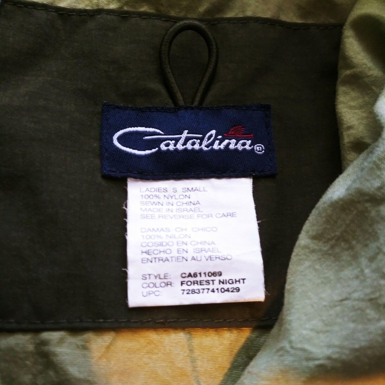 Catalina Womans Size S Green Vest & Capri Set S9 - image 11