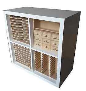New Range of Craft Storage inserts for Ikea Kallax cubes