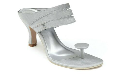 Oliveira Deltota Toe-Post Women/'s Shoes RRP £60  BRAND NEW SILVER Size 8