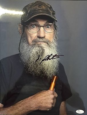 2019 New Style Si Robertson Duck Dynasty Signed 11x14 Photo Jsa N35236 100% Guarantee Television