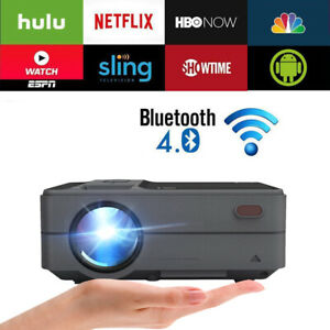 MINI-LED-Projektor-Beamer-Cinema-Heimkino-HD-1080p-USB-AV-HDMI-Android-Bluetooth