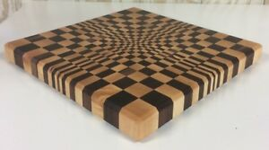 Image Is Loading End Grain Cutting Board Handmade Walnut And