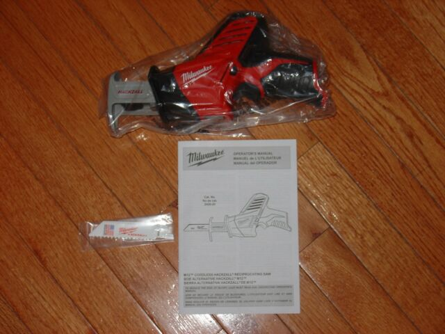 Milwaukee 2420-20 New M12 12V Cordless Li-Ion Reciprocating Saw Hackzall