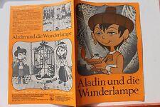 28022 FILM FÜR SIE Märchen Filmprogramm Aladin und die Wunderlampe Nr85/1972 DDR