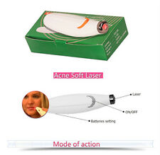 Laser Therapy Pen Acne Scar Facial Skin Blemish Wrinkle Removal Herpes Treatment