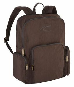 Nouvelle Mode Camel Active Journey Back Pack Sac à Dos Brown Marron Nouveau-afficher Le Titre D'origine Ture 100% Garantie