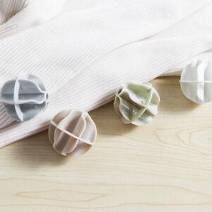 2XPlastic-washing-balls-clothes-laundry-balls-for-rinsing-preventing-twistin-dm