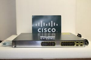 Cisco-WS-C3750G-24PS-S-24-Port-PoE-10-100-1000-Gigabit-Switch-FAST-SHIPMENT