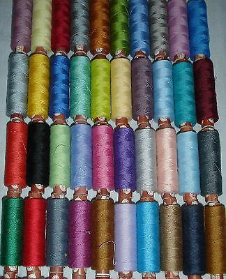 Good quality LUREX High Quality Thread set of 8 Spools 2500 Mtrs each