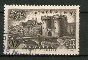 TRES BEAU TIMBRE YVERT N° 445 OBLITERE - VICTOIRE DE VERDUN