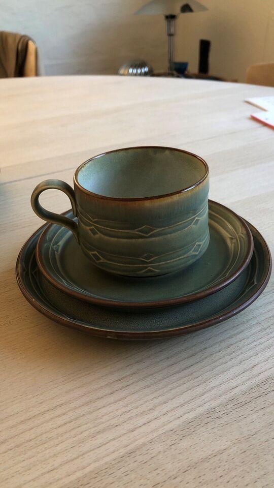 Stentøj, Te kop te kande osv, Quistgård Nissen Rune