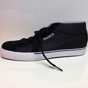 Puma-S-Mid-City-Sneaker-Turnschuhe-schwarz-Gr-42-Schuhe-Sale
