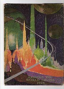 CANADIAN-PACIFIC-EMPRESS-OF-FRANCE-1925-World-Cruise-Brochure-Folder-C20827
