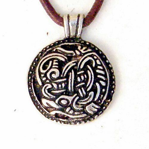Anhänger mit Greiftier Amulett Vorbildern aus Zeit der Wikinger Mittelalter