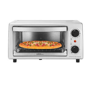 "Toaster Oven Toastation 4 Slice Countertop Kitchen Bread 9"" Pizza Birthday Gifts"