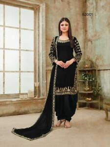 Punjabi Suits Salwar Kameez Women Designer Sharara Plazzo Party Wear Wedding 1 Ebay