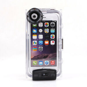 super popular 2e47c a1ae9 Details about 40M Waterproof Underwater Diving Housing Cover Case for  iPhone 6 Plus