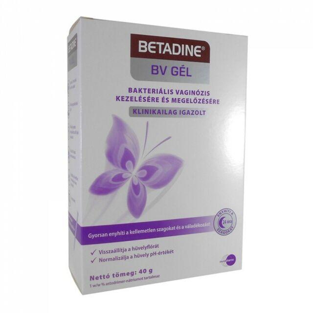 BETADINE BV GEL- Vaginal Gel -with Applicator 40g