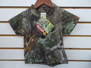 Infant-amp-Toddler-Boys-Realtree-Camo-Short-Sleeved-T-Shirt-Size-0-6-Months-6-7