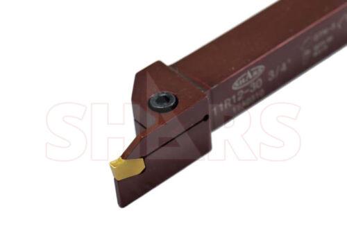 SHARS 3//4 x 3//4 SHANK PRECISION GROOVING /& PROFILE TURNING TOOL HOLDER GTN 3 NEW