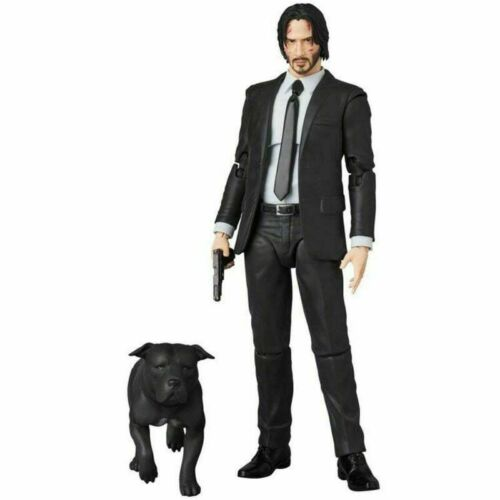 New Medicom Toy Mafex 085 John Wick Chapter 2 Action Figure With Box Xmas Gift
