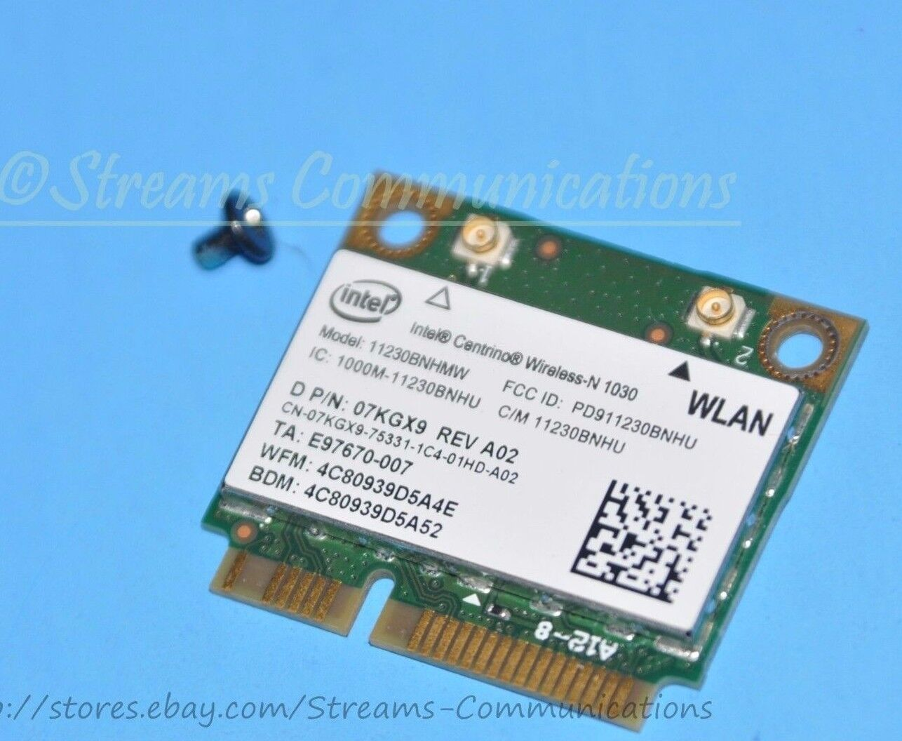NYCPUFAN USB 2.0 Wireless WiFi LAN Card for Dell XPS 630i