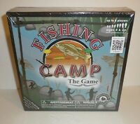 Fishing Camp Board Game Education Outdoors Family Fun Group Sealed Camping