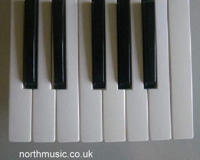 USED S90 P Series Yamaha Replacement Keys for Motif 8