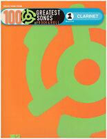 100 Rock & Roll Songs Sheet Music For Clarinet Beatles, Elvis, Van Morrison