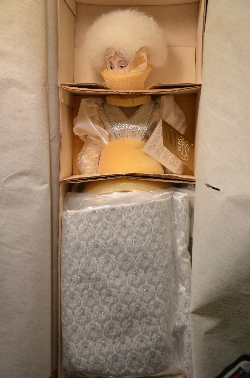 Snow Queen-Franklin Mint Muñeca Colección De Muñecas De Reliquia