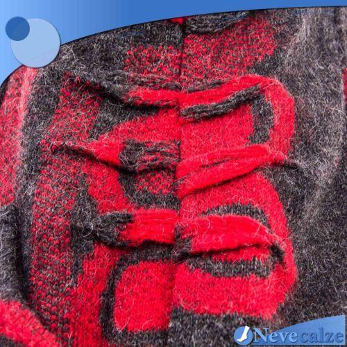 Cappotto donna invernale in lana  calda giacca lunga  parka cappuccio   DICAP002