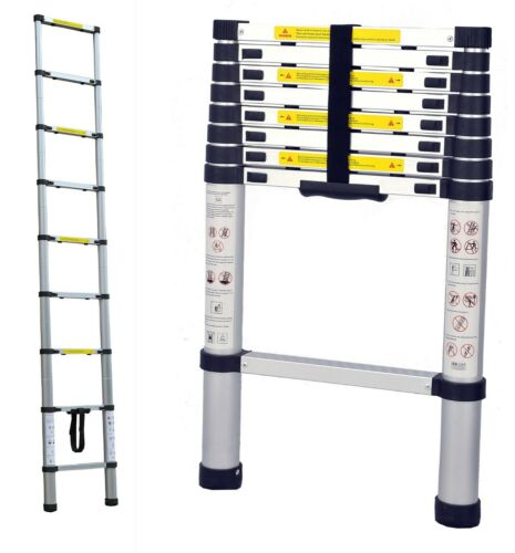 Portable Telescopic Ladder 2.6m /& Carry Bag Caravan RV Parts Jayco Accessories