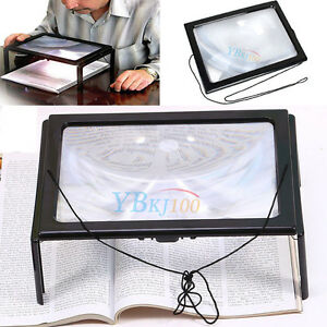 Image Is Loading Hands Free Magnifying Reading Table Desk Light Gl