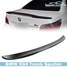 Unpainted BMW 5-Series E60 Sedan High Kick P-Type Rear Wing Trunk Spoiler 2010