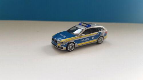 Herpa 094603 BMW 5er Touring Polizei Bayern 1:87
