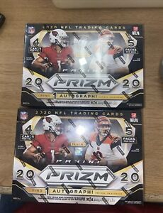 2020 Panini Prizm Football Mega Box LOT! Burrow! Tua! Herbert! 2 BOXES!