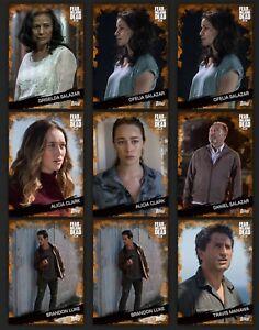 Topps-Walking-Dead-Card-Trader-Digital-Orange-9-Pack-Base-Lot