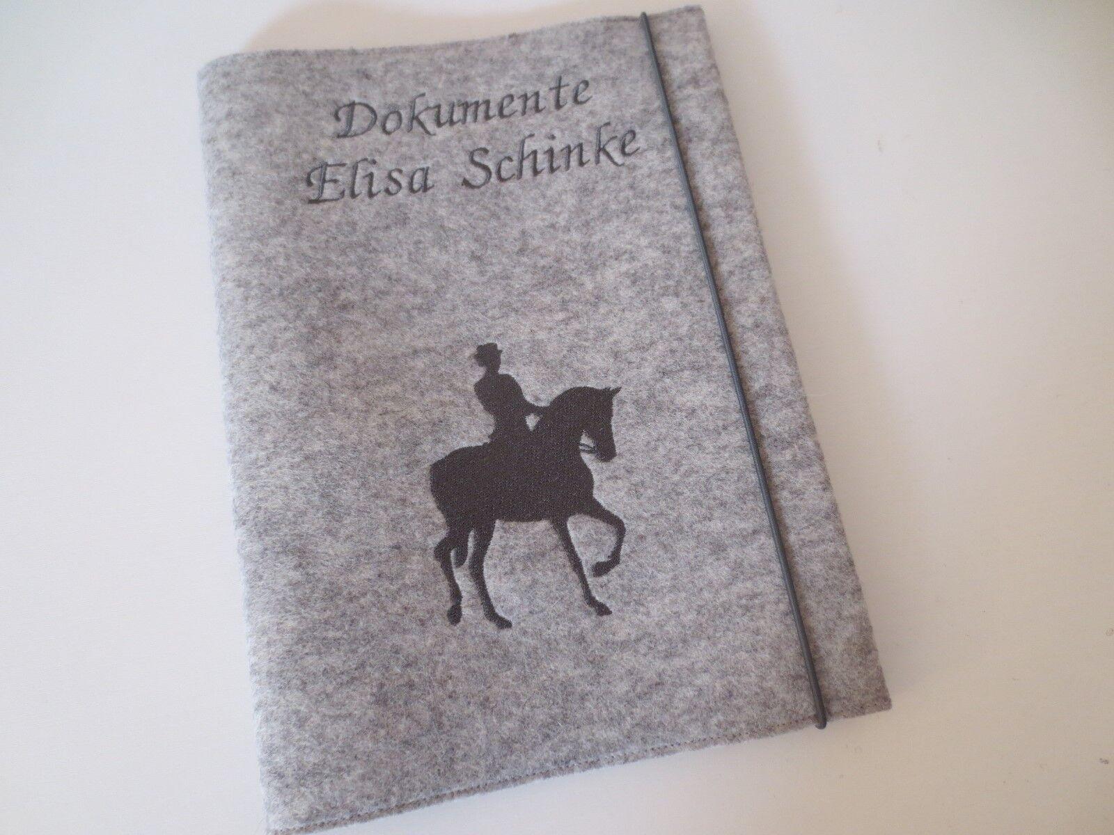Zeugnismappe DIN A4 Wollfilz Mappe Ordner Schule Grundschule Zeugnisse Name | Verkauf Online-Shop  | Exquisite Verarbeitung  | Online Store