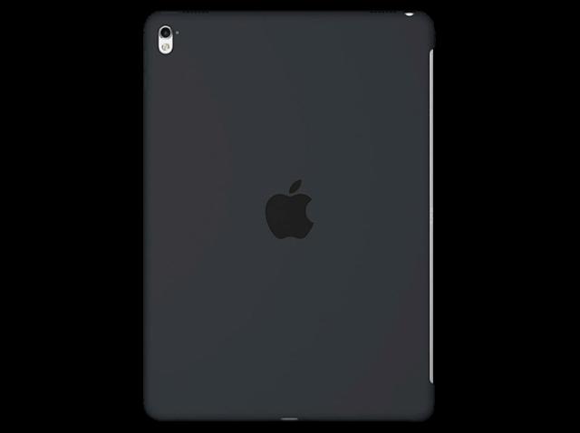 """Carcasa para iPad Pro 9.7"""" - Apple Silicone Case, Gris carbón"""