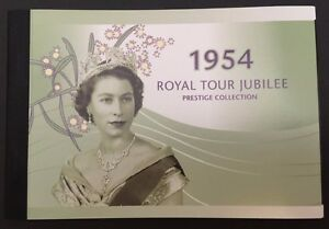 2004-Royal-Tour-by-Queen-Elizabeth-II-50th-Anniversary-Prestige-Booklet-SP17