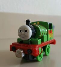 Thomas and Friend Train CHRISTMAS PERCY with SNOW Take A Long Engine DieCast EUC