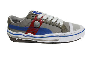7594d8d5eb27 Puma Mihara Yasuhiro MY 41 Lace Up Grey White Mens Trainers 351822 ...