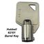 Hubbell-2101-RKL-Heavy-Duty-AC-034-Barrel-034-Tamper-Proof-Switch-Key-1-Key thumbnail 2