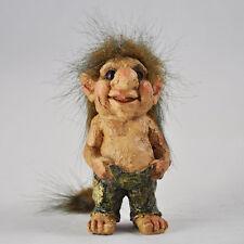 Troll Holding Pants Sculpture Small Figurine Indoor Outdoor Garden Magic 80002