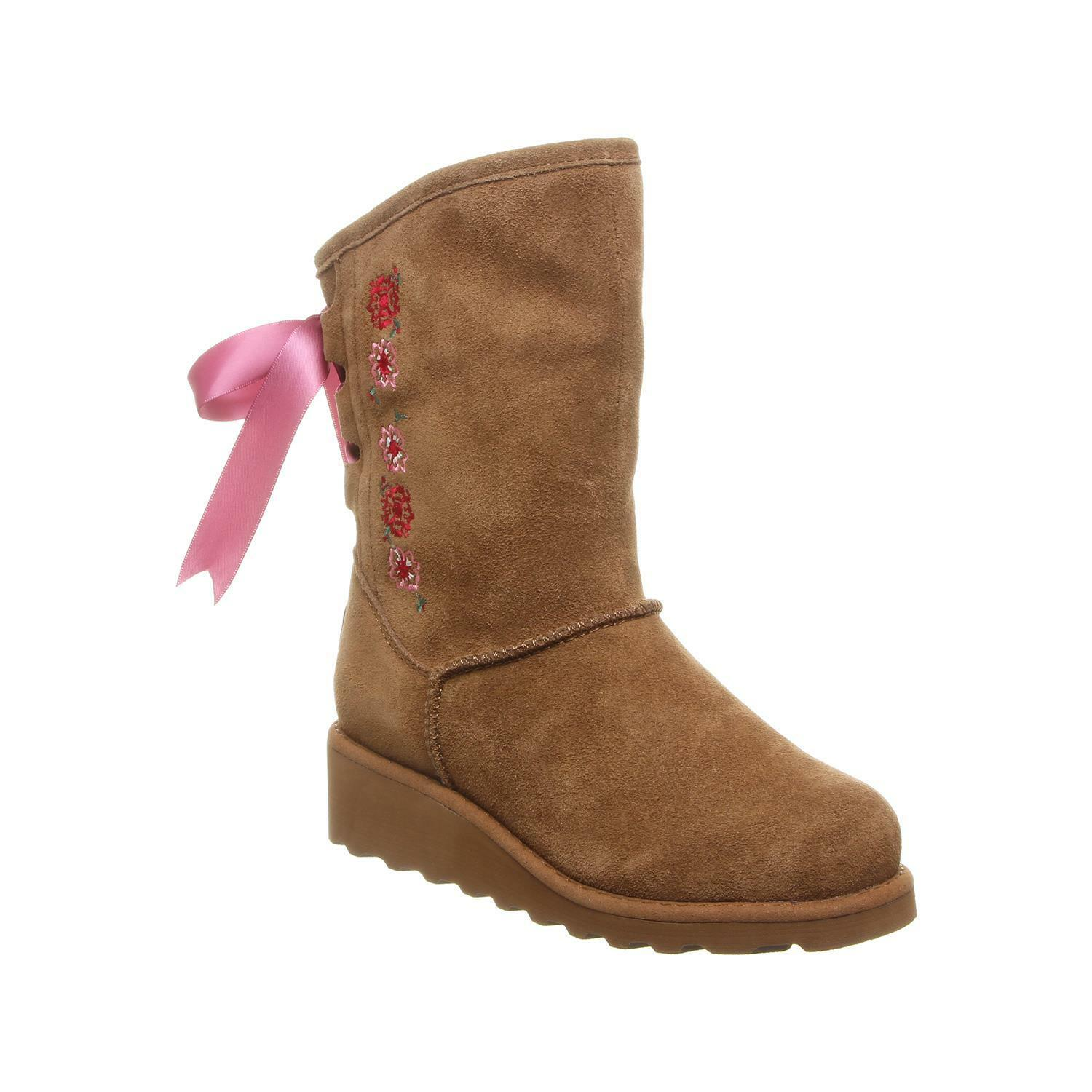 Bearpaw Carly Youth Youth Youth - Kids' Suede avvio 2171y Hickory - 4 M Us Big Kid c88935
