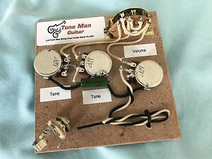 The Blues Wiring Harness Fits Fender Stratocaster Vintage 50's Wiring PIO Cap