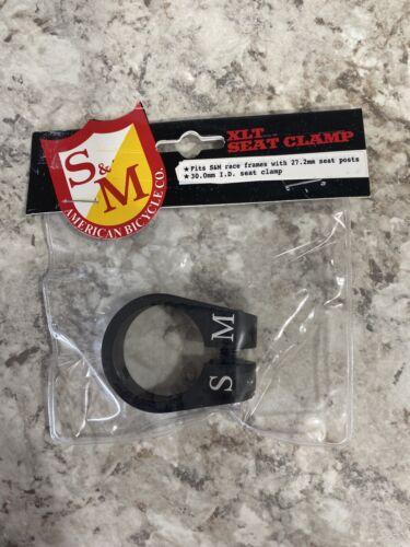 for 27.2mm seatpost SE NEW Bmx Bikes S/&M XLT  SEAT POST CLAMP BLACK 30mm I.D