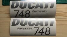 DUCATI 748 SIDE FAIRING Decals  2002 Style