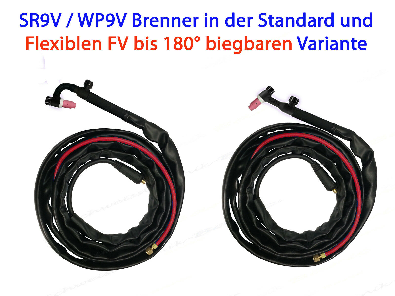 WIG Schlauchpaket SR9 SR 9 V Schweiß-Inverter Schweissbrenner SR9V Brenner SR 9V