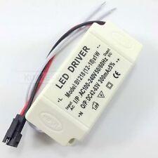 Transformator LED Driver Netzteil Trafo mit Anschlusskabel 12-18W 300mA Neu